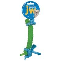 JW Elastarope Coiled Bone Dog Toy big image