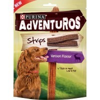 Purina Adventuros Strips with Venison Flavour 90g big image