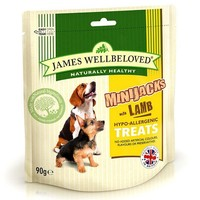 James Wellbeloved Minijacks Dog Snacks 90g big image