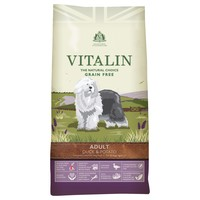 Vitalin Grain Free Adult Dry Dog Food (Duck & Potato) big image