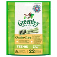 Greenies Grain Free Daily Dental Treats for Teenie Dogs big image