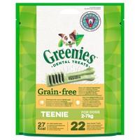 Greenies Grain Free Daily Dental Treats for Teenie Dogs big image