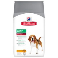 Hills Science Plan Perfect Weight Medium Breed Adult Dog Food 12kg (Chicken) big image