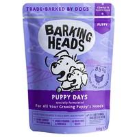 Barking Heads Wet Dog Food Pouches (Puppy Days) big image