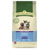 James Wellbeloved Senior Dog Small Breed Dry Food (Fish & Rice) big image