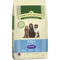 James Wellbeloved Senior Dog Fish and Rice big image