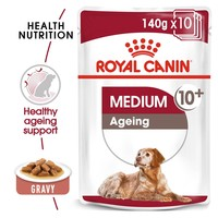 Royal Canin Medium Ageing 10+ Wet Dog Food in Gravy big image