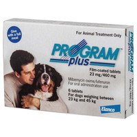 Program Plus 460mg Tablets for Large Dogs (White) big image