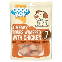 Good Boy Chewy Bones Wrapped with Chicken big image