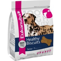 Eukanuba Healthy Biscuits Senior 7+ Dog Treats 200g big image