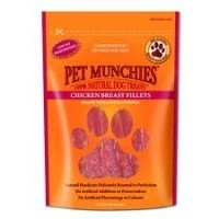 Pet Munchies Chicken Breast Fillets Treats for Dogs 100g big image