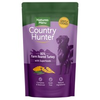 Natures Menu Country Hunter Dog Food Pouches (Turkey) big image