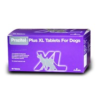 Prazitel Plus XL Worming Tablets for Dogs big image