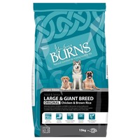 Burns Adult Large Breed Dog Food 15kg (Chicken and Rice) big image