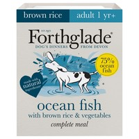 Forthglade Complete with Brown Rice Dog Food (Ocean Fish & Veg) big image