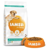 Iams for Vitality Light in Fat Adult Dog Food (Fresh Chicken) 12Kg big image