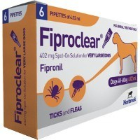 Fiproclear Spot-On Solution for Very Large Dogs big image