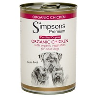 Simpsons Premium Certified Organic Adult Wet Dog Food (Chicken) big image