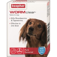 Beaphar WORMclear for Small Dogs (2 Tablets) big image