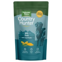 Natures Menu Country Hunter Dog Food Pouches (Duck) big image
