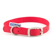Ancol Heritage Nylon Dog Collar (Red) big image