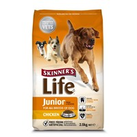 Skinners Life Junior Dog Food (Chicken) 12.5kg big image