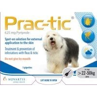 Prac-Tic Spot-On for Large Dogs 3 Pack big image