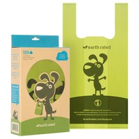 Earth Rated Unscented Poop Bags with Handles big image