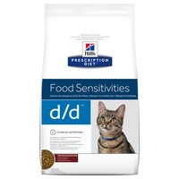 Hills Prescription Diet DD Dry Food for Cats 1.5kg big image