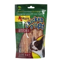 Antos Chicken D'Light Stick Dog Treat 100g big image