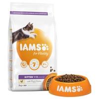 Iams for Vitality Kitten Food (Fresh Chicken) 2.55Kg big image