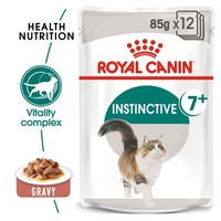 Royal Canin Instinctive 7+ Pouches in Gravy Senior Cat Food big image