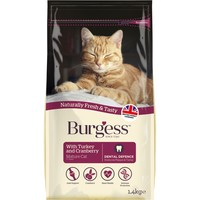 Burgess Mature Complete Cat Food 1.4kg (Turkey & Cranberry) big image