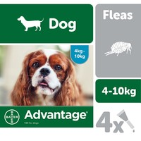 Advantage 100 Flea Treatment for Dogs 4 Pipettes big image
