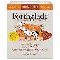 Forthglade Complete with Brown Rice Dog Food (Turkey & Veg) 18 x 395g big image