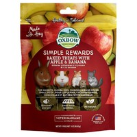 Oxbow Simple Rewards Baked Treats with Apple and Banana 85g big image