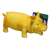 Good Boy Latex Piggy Pals Dog Toy big image