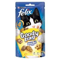 Felix Goody Bag Treats 60g (Cheezy Mix) big image