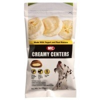 M&C Creamy Centers Dog Treats - Yogurt and Real Banana big image