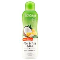 TropiClean Flea & Tick Relief Dog Shampoo (Neem & Citrus) 592ml big image