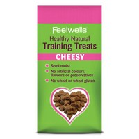 Feelwells Healthy Natural Training Dog Treats (Cheesy) 115g big image