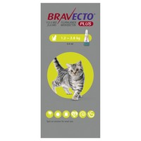 Bravecto Plus 112.5mg Spot-On Solution for Small Cats big image
