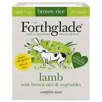 Forthglade Complete with Brown Rice Dog Food (Lamb & Veg) 18 x 395g big image