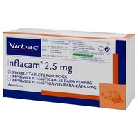 Inflacam 2.5mg Chewable Tablets for Dogs big image