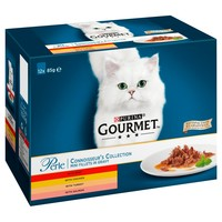 Purina Gourmet Perle Adult Cat Food Pouches (Connoisseur's Collection) big image