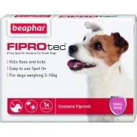 Beaphar FIPROtec Spot-On Solution for Small Dogs big image
