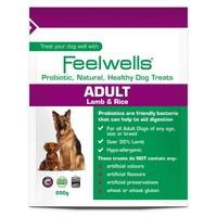Feelwells Life Stage Probiotic Adult Dog Treats (Lamb & Rice) big image