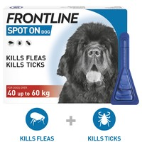 FRONTLINE Spot On Flea and Tick Treatment for Extra Large Dogs big image