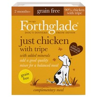 Forthglade Just Chicken with Tripe Grain Free Dog Food (18 x 395g) big image