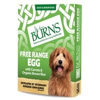 Burns Wet Dog Food Pouches (Free Range Egg) big image
